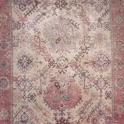 Oushak Antique Turkish Rug
