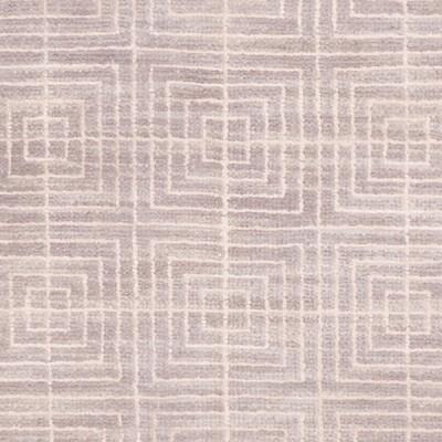 Modern Grey Silk&wool 6x9 HR